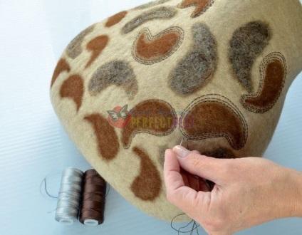 Валяємо стильну сумку з кардочёса - ярмарок майстрів - ручна робота, handmade