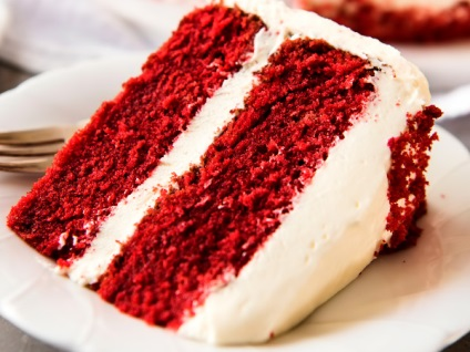 Торт червоний оксамит red velvet cake - рецепт з фото, чудо-кухар