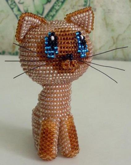 Jak zrobić kota z paciorków, wszystko jest proste