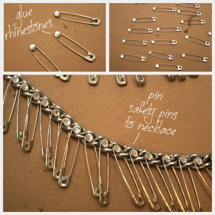 Jak zrobić naszyjniki z łańcuchów