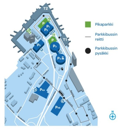 Парковка в аеропорту Гельсінкі вартість покрокова інструкція