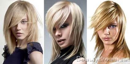 Стрижка каскад на середні волосся модні варіанти з фото