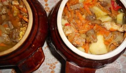 М'ясне асорті з грибами - покроковий рецепт з фото на
