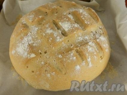 Пшенично-житній хліб в духовці - рецепт з фото