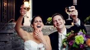 Jak zrobić toast ślubny własnymi słowami -
