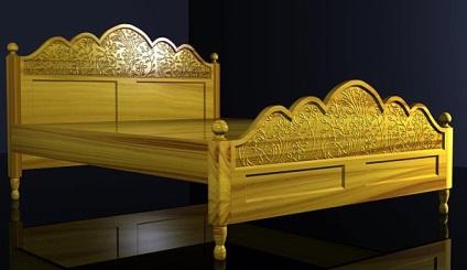 Моделювання меблів в 3d - ліжко 3d меблі (3ds max уроки)
