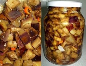 Рецепти заготовок з баклажанів з часником на зиму - під гриби варіанти маринування зі стерилізацією