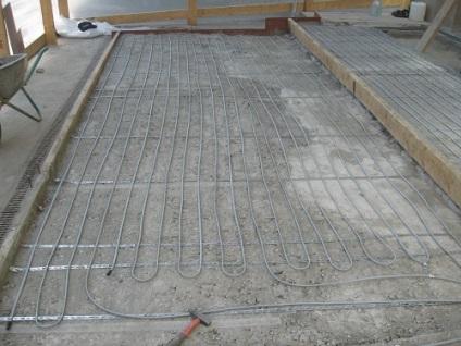 Монтаж теплої підлоги в пермі