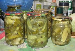 Огірки в гірчичною заливці рецепти огірків на зиму без стерилізації, в гірчичному соусі