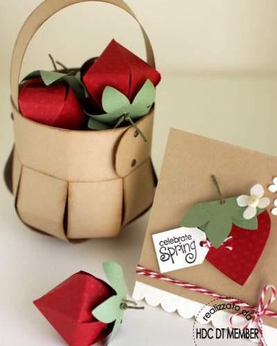 Подарункова корзинка своїми руками