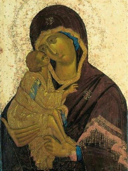 Феофан грек ікона Богоматір Донська