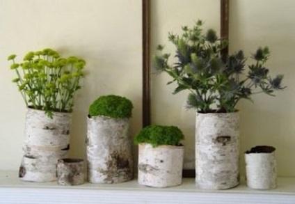 30 أفكار لتزيين جذوع الأشجار