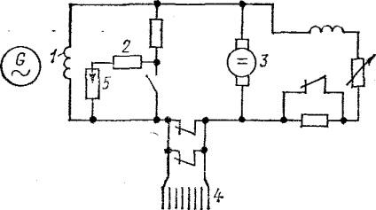 Гасіння поля генератора - --- електрична частина електростанцій
