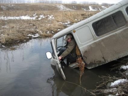 Підготовка машини до полювання і рибалки