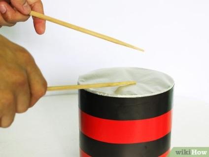 Як зробити барабани для дітей