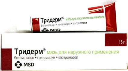 Крем - тридерм - від псоріазу - фармакологічні властивості, протипоказання