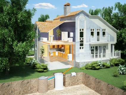 Каналізація - ks010 - свій будинок від і до