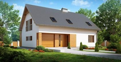 Каркасні будинки заводського виготовлення - під ключ, будівництво швидкомонтованих будинків