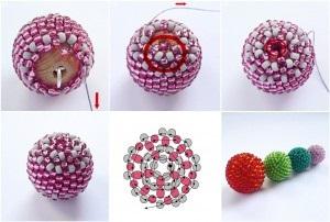 Сережки з бісеру схеми плетіння, матеріали, ідеї