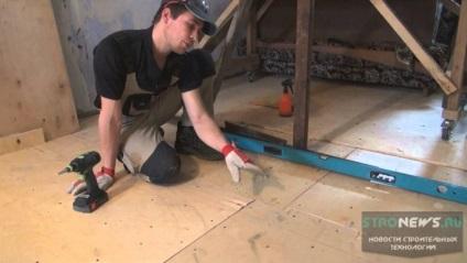 Фанера або ОСП на підлогу