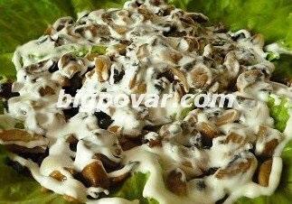 Салат січнева ромашка рецепт з фото, покрокове приготування