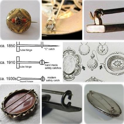 Как да се определи възрастта на брошката на къдрици и панти - Fair Masters - ръчна изработка, ръчно изработени