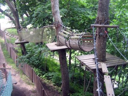 Парк пригод лісовий кіт (парк пригод межакатіс) в Сигулде