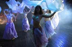 Танець живота традиції східних танців і майстер-клас для навчання
