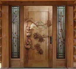 Cea mai bună ușă pentru o casă din lemn