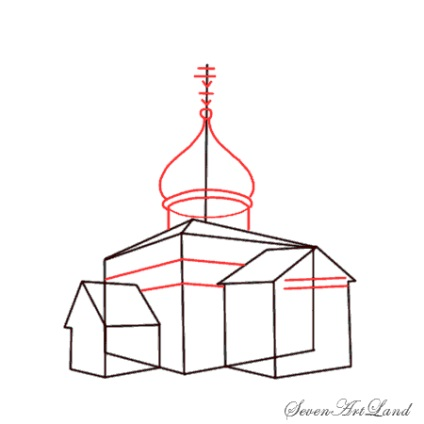 Jak narysować katedrę św Izaaka za pomocą ołówka