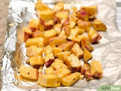 Як приготувати солодкий картопля в духовці