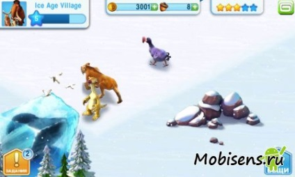 Льодовиковий період село - ice age village будуємо нове поселення