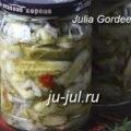 Салат з кабачками, цвітною капустою, помідорами і перцем, готуємо смачно