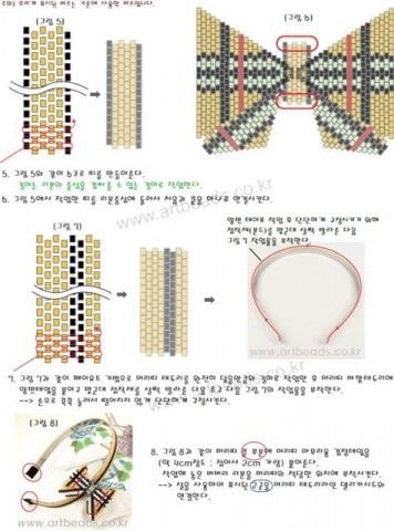 Прикраси з мотивами burberry (зі схемами), країна майстрів
