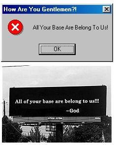 All your base are belong to us, netlore ayb, aybab2u, aybabtu, zero wing, англійська мова,