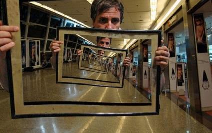 Ефект Дросте, netlore джош Соммерс, Моріс Ешер, оптичні ілюзії, рекурсія, Фотоманипуляции,