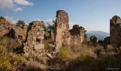 Унікальні пам'ятки Аланії стародавнє місто сіедра