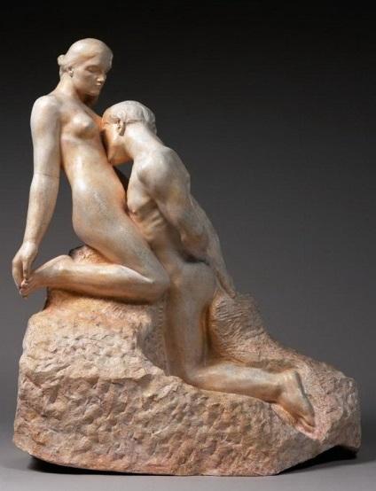Cele mai expresive sculpturi de dragoste