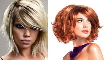 Tunsorile Pentru Părul Mediu Cu Bretele Sunt Voluminoase Drepte