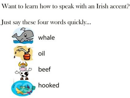 Як розмовляють ірландці англійською мовою - російськомовна Ірландія