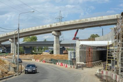 Транспортна розв'язка на перетині МКАД з Каширському шосе