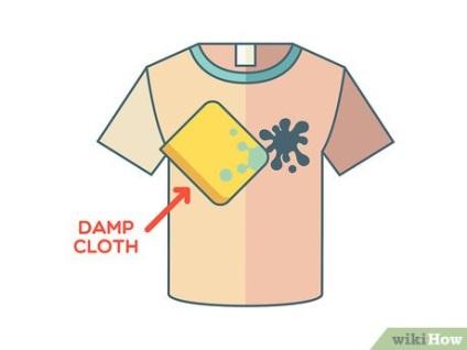Як вивести сліди від ручки з одягу