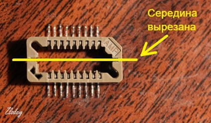 Адаптер zif soic для програматора