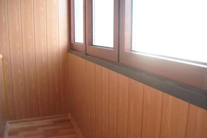 Оздоблення балкона за допомогою мдф-панелей