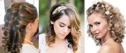 Coafuri De Nunta Pentru Optiuni De Par Mediu Chic