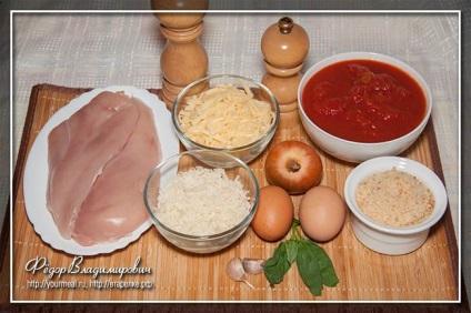 Куряча грудка в пармезановой скоринці, домашні рецепти