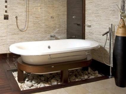 Hogyan, hogy a fürdőszoba (42 fotó) hogyan kell felhívni szép és hangulatos belső saját kezűleg