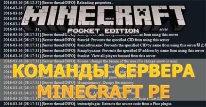minecraft pe szerver parancsok - parancs admin maynkraft