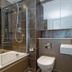 Javítás a fürdőszobában a Hruscsov fotó lehetőségek