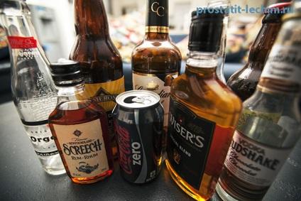 prosztatagyulladás alkohol)